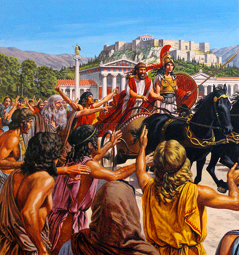 an analysis of solons rule over athens in ancient greece