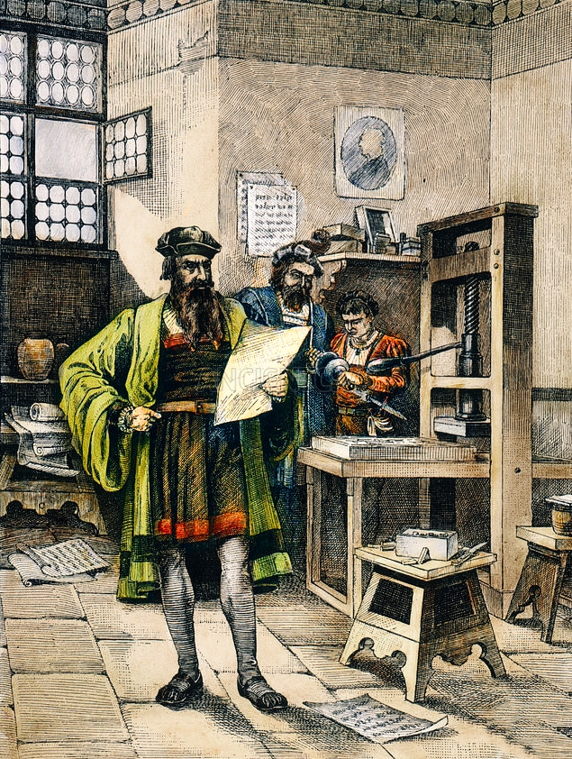 the invention of the printing press The printing press was not only an important invention for this time period, but was the single most influential invention in all of history invented by johannes gutenberg, the printing press made books cheap and available to the general public.