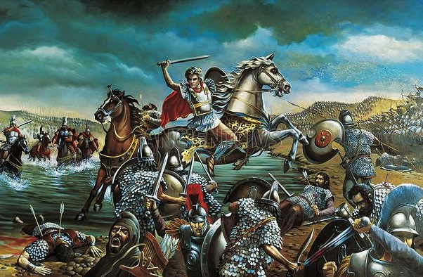 alexander the great battle of granicus essay