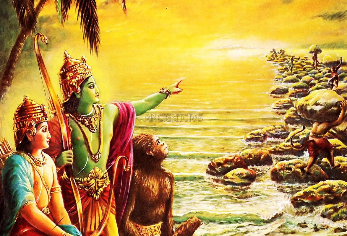 the roles of rama in the ramayana The women of the ramayana,  sisters and daughters, tied to their duty in those roles: revered if conforming to  a journalist in rama's ayodhya goes in.